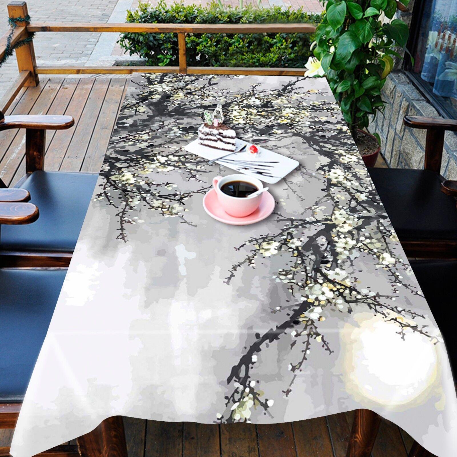 3D Squid ornent Nappe Table Cover Cloth fête d'anniversaire AJ papier peint Royaume-Uni Citron