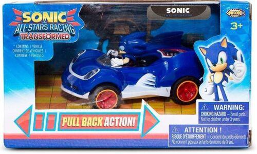 Sonic The Hedgehog Pull-back All Star Racing Coche 6416 Nuevos Y En Caja