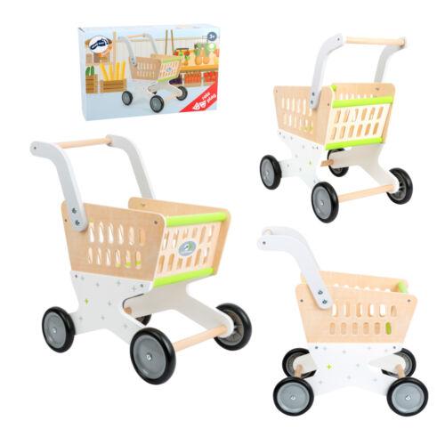Kleinkindspielzeug Einkaufswagen Holz Spielzeug Kaufladen Kaufmannsladen Zubehör Kinder Geräte