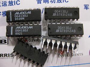 PDIP-16 1x SILICONIX DG641DJ Video Switch ICs SPST Analog Switch