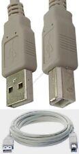12ft long USB2.0 A~B AB Printer Cable/Cord/Wire PC/MAC/HP/Canon/Epson$SH DISC {L