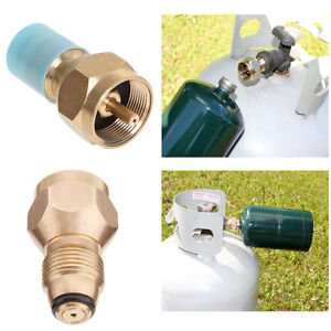 LP-1-LB-Zylinder-Tank-Propan-Refill-Adapter-Koppler-Heizgeraet-Outdoor-BBQ-Hunt