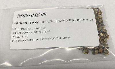 MS21069-3 NAS697X3 NUT 2 LUG STEEL CAD PLATE SIZE 10-32 100//EA PACKAGE