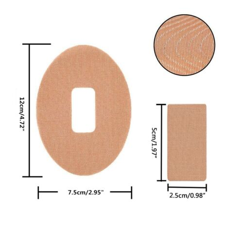 Color Skin 24PCS ST4Z Dexcom G6 Adhesive Patches Waterproof Adhesive