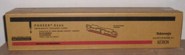 Original Xerox Tektronix Toner 016200600 magenta HC für Phaser 6200  OVP A