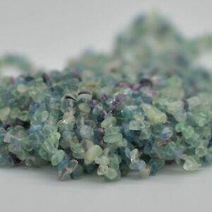 36-034-Grade-A-Natural-Fluorite-Semi-precious-Gemstone-Chips-Nuggets-5mm-8mm