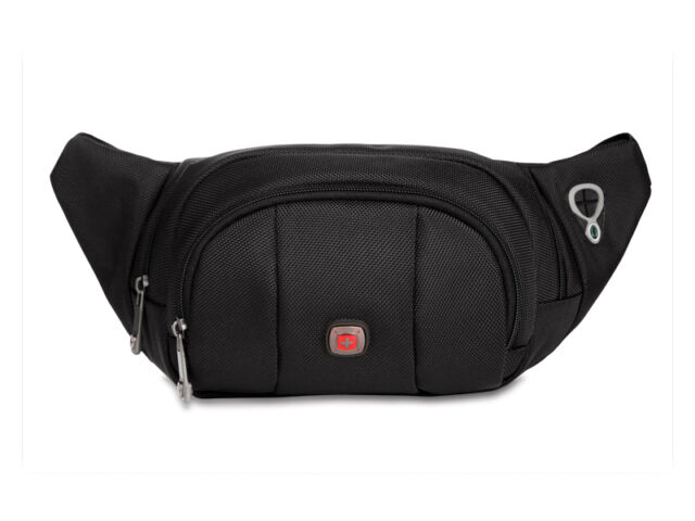 New Swiss Gear Running Belt Bum Waist Pouch Hip Fanny Travel Pack Zip Sports Bag