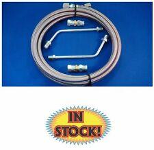 Gotta Show GM transmission Cooler Hose Kit - 11' Stainless Steel - 231101