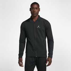 8650e19828fd45 Jordan Ultimate Flight Jacket Black   924657-010   Men s Basketball ...