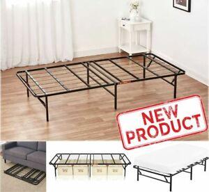 Twin Size Platform Bed Frame Mattress 14 Foundation ...