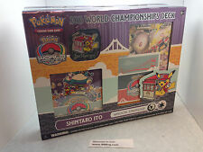 Pokémon TCG: 2016 World Championship Deck - Shintaro Ito Factory Sealed