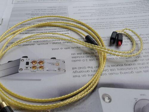 1.2m OCC Silver Plated Cable For ATH-IM50 IM70 IM01 IM02 IM03 IM04 for  ebonhawk