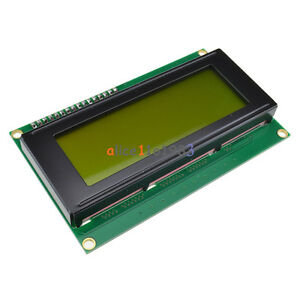 IIC-I2C-TWI-SP-I-Serial-Interface2004-20X4-Character-LCD-Module-Display-Yellow