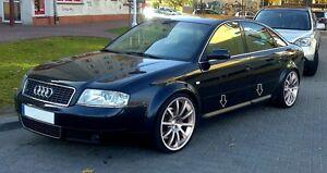 Audi A6 C5 S6 Look Lower Door Trim Mould Side Blades
