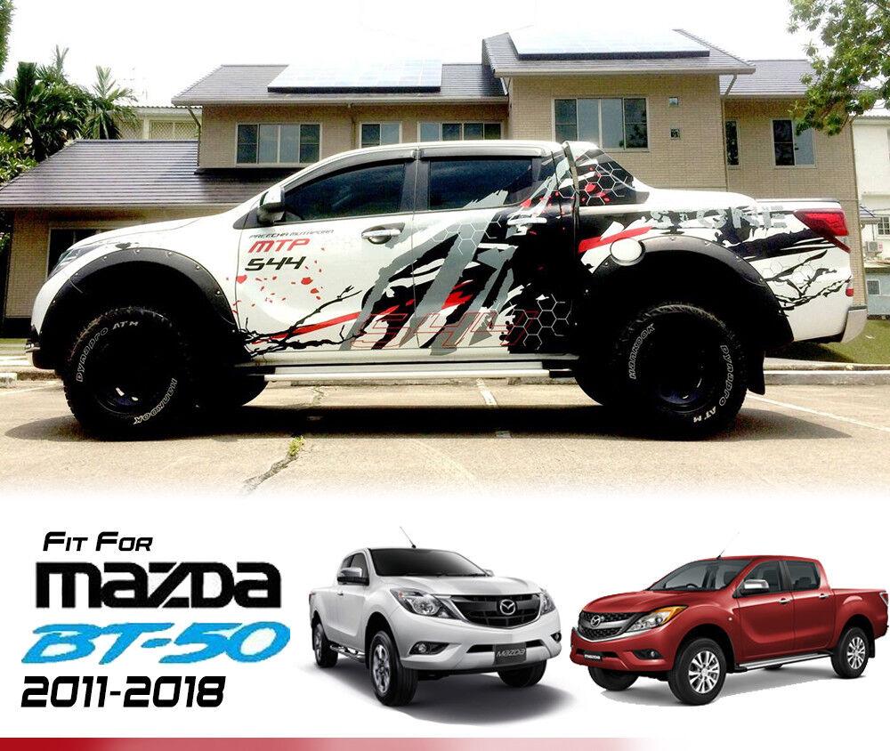 Mazda Bt50 2018 >> Black Decals Sticker Vinyl Mazda BT-50 BT50 Pro 12 13 14 15   eBay