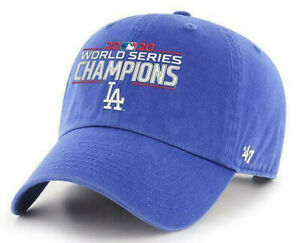 LOS-ANGELES-DODGERS-2020-WORLD-SERIES-CHAMPS-ROYAL-CLEAN-UP-CAP-HAT-NEW-039-47