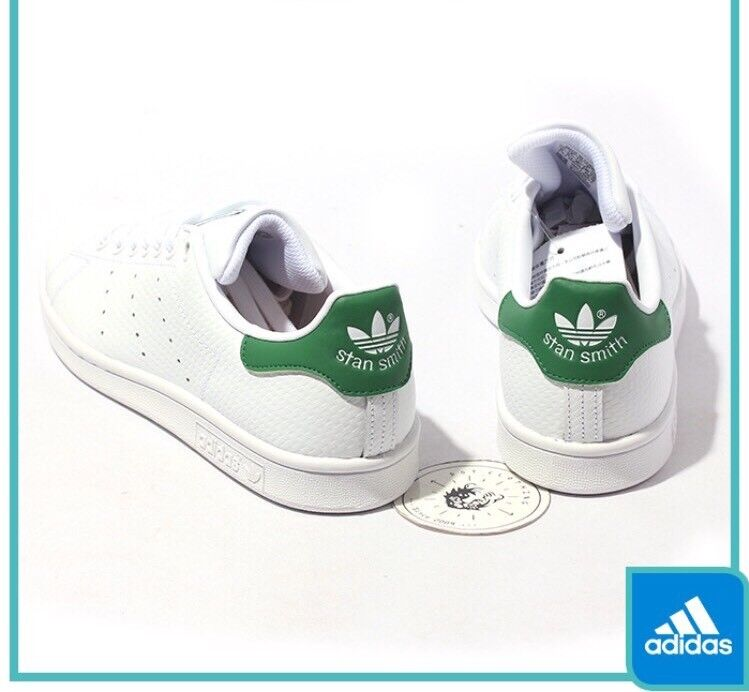 Adidas Originals Stan Smith White CARBON Cork FIBER Print Green Cork CARBON S80029 Men Sz 12 2ddffc