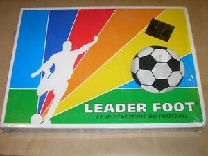 RARE JEU / LEADER FOOT, LE JEU TACTIQUE DU FOOTBALL / NEUF SOUS CELLO