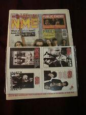 NME 1991 OCT 12 CHAPTERHOUSE PUBLIC ENEMY BEATLES MORRISSEY RIK MAYALL TALK TALK