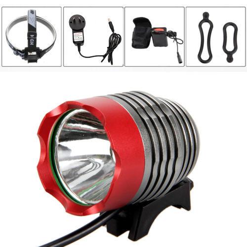 Waterproof 5000Lm XM-L T6 LED Headlamp Head Front Bicycle Lamp Bike MTB Light