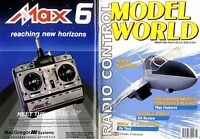 RADIO CONTROL MODEL WORLD MAGAZINE 1992 MAR HANZA BRANDENBURG CI PLAN FEATURE