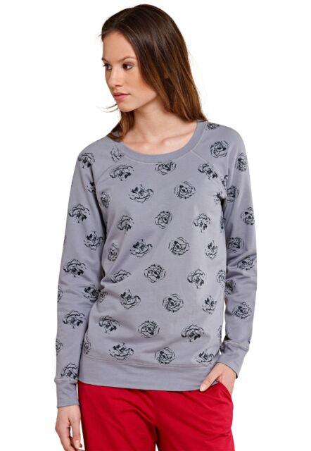 Uncover by Schiesser Damen Lounge T-Shirt  XS  S M L XL  blau NEU