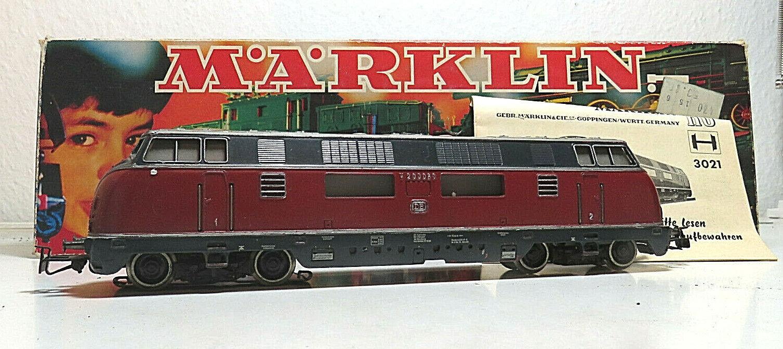 Multi-usage Locomotive BR v200 060 de la  DB Märklin 3021 h0 images voitureton instructions  70% de réduction