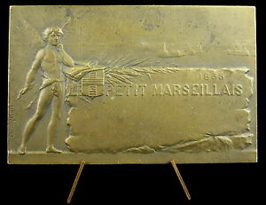 Medal-le-Petit-Marseille-1868-View-Berry-and-Port-of-Marseille-Gustave-Martin