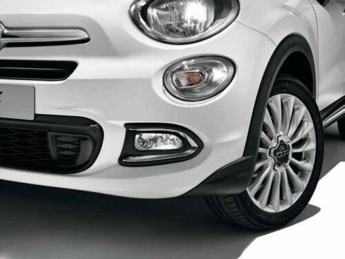 Trims New Genuine 50927460 Fiat 500X Pair of Chrome Front Fog Light Surrounds