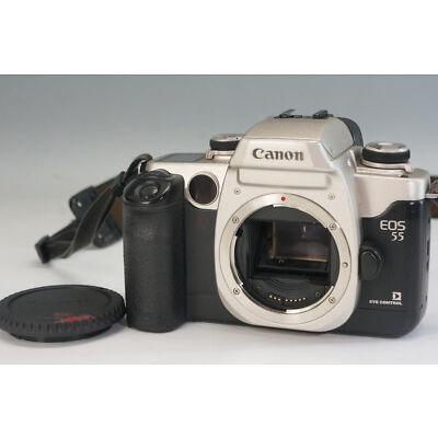 Canon EOS55 Single Lens Reflex Film Camera Body Free Shipping 226f23
