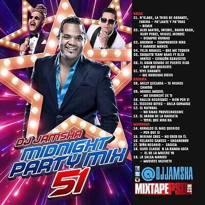 Dj Jamsha Midnight Party Mix 51 Ebay