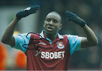 Demba BA SIGNED Autograph 12x8 Photo AFTAL COA West Ham UNITED In Person