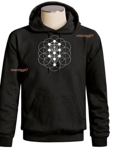 Sacred Geometry Kabbalah Tree of Life Sweatshirt Hoodie SIZES S-3XL