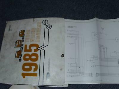 1985 FORD F-600 F-800 F600 F800 CAB WIRING DIAGRAMS SE | eBay