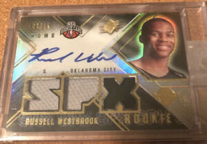 2008-Upper-Deck-Radiance-Russell-Westbrook-Rookie-Patch-Auto-25-Rare