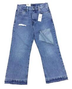 30 Jean Jeans Crafted Splice Déchiré 27 Femmes Nouveau Taille Bleu Flare 26 Made Levis OqWwEY8