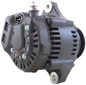 New-Mini-Alternator-fits-Denso-Hot-Rod-1-Wire-Black-70-Amp-Street-Rod-Race-Car