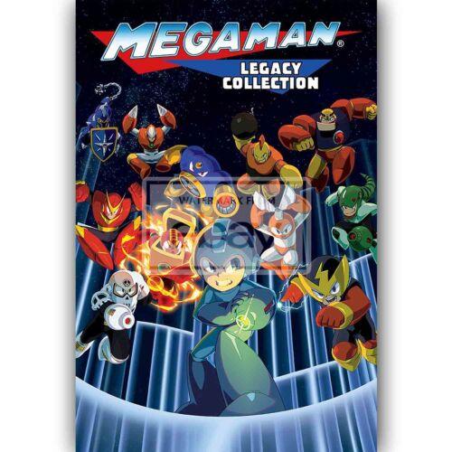 Custom Mega Man Legacy Collection Silk Poster Wall Decor