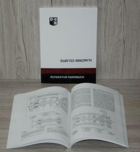 David Brown Werkstatthandbuch Reparatur Handbuch Traktor 770 880 990