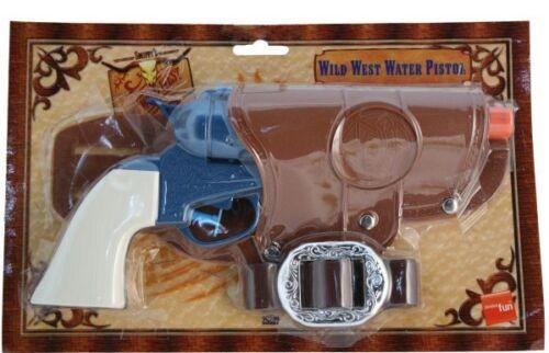 Adult Wild West Cowboy Fancy Dress Revolver Gun Holster Water Pistol Smiffys New