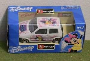 BURAGO-DIE-CAST-DISNEY-CARS-1-43-SCALE-MINNIE-MOUSE-017