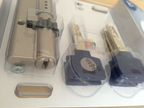 Mul T Lock INTERACTIVE Cylinder KNOB Cogwheel Gear 81mm Euro Door Lock Locksmith