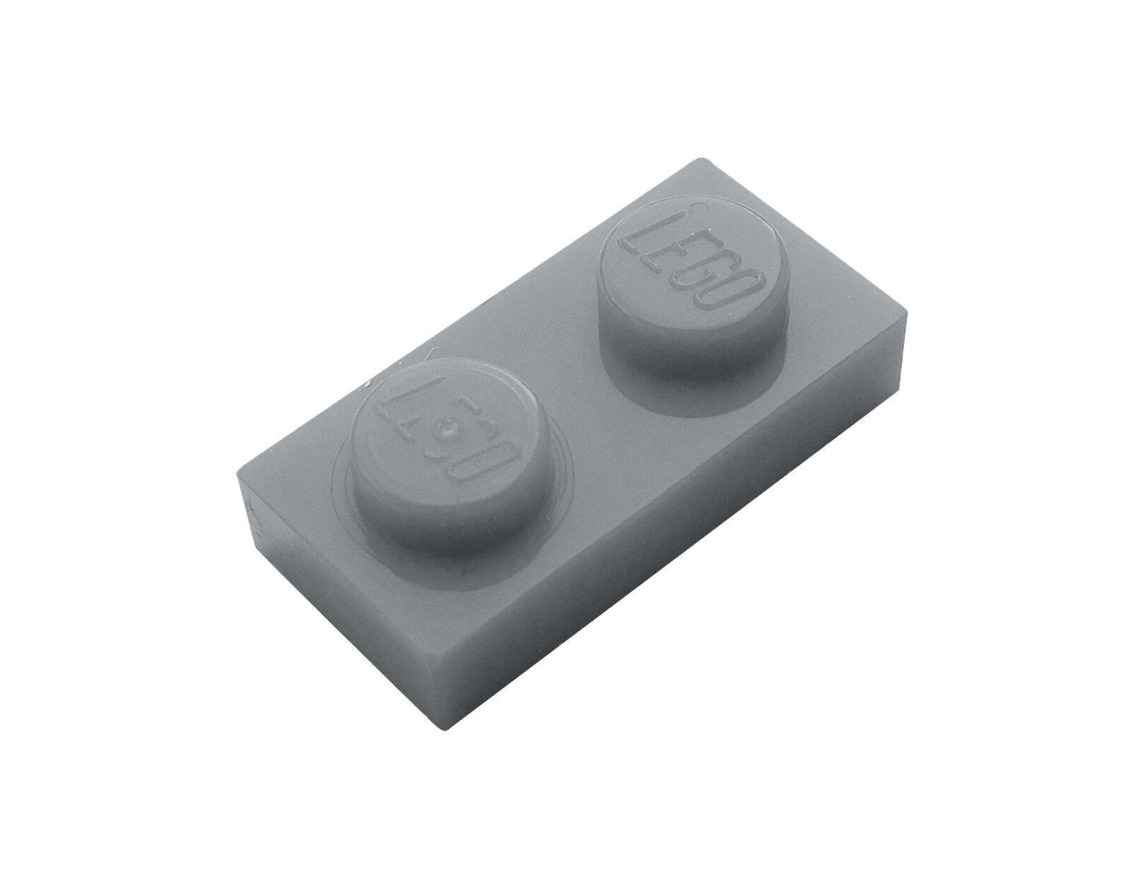 2x LEGO® 3033 6x10 Platte neu-hellgrau NEU light bluish gray plate