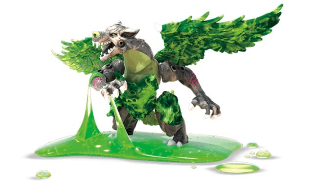 Breakout Beasts Series Wave 4 Mega Construx Eggs Slime New 09 Vile [Green Wolf]