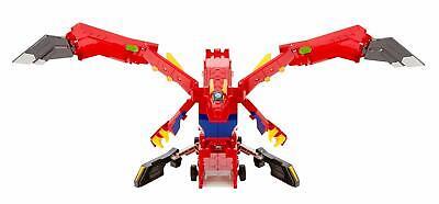 Transforming Robot to Toy Truck Kids Mecard Mega Dracha