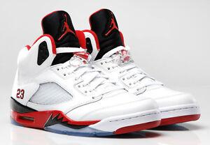 promo code b128e 7f3e1 Image is loading 2013-Nike-Air-Jordan-5-V-Retro-Fire-