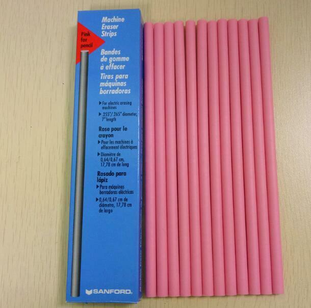 Top Eraser Strips EF74(75215) pink for pencil special for abrasion testing e