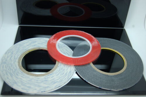 Craft 3M 1mm 3mm Very Strong Double Sided Adhesive Tape Sets for Mobiles 2mm