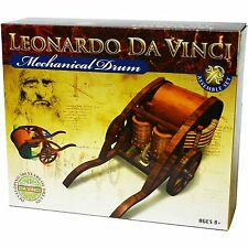 Leonardo Da Vinci Mechanical Drum Snap Together Model Kit STEM Learning Resource