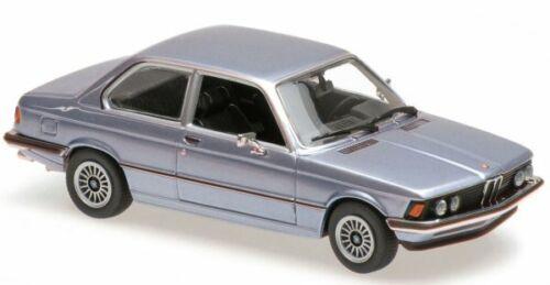 lightbluemetallic 1975 BMW 323i Maxichamps 1:43